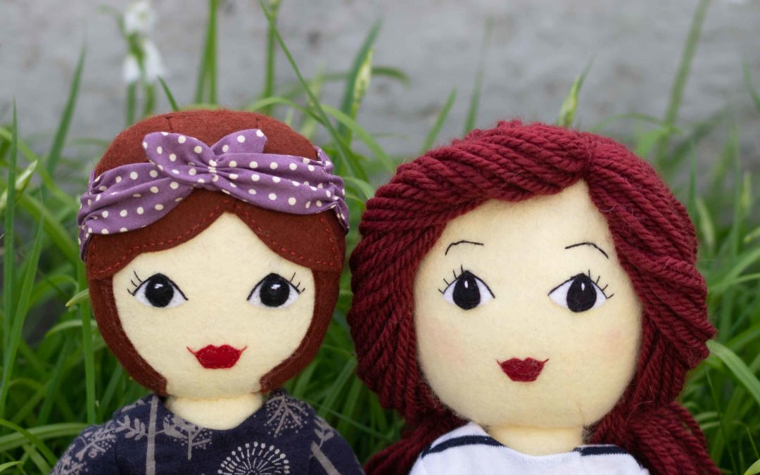 How to Make a Tilly Doll with Yarn Hair