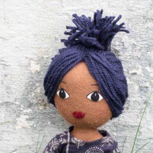 dolls yarn hairstyle