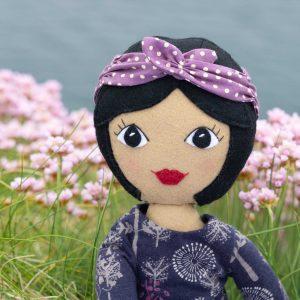 Tilly felt doll