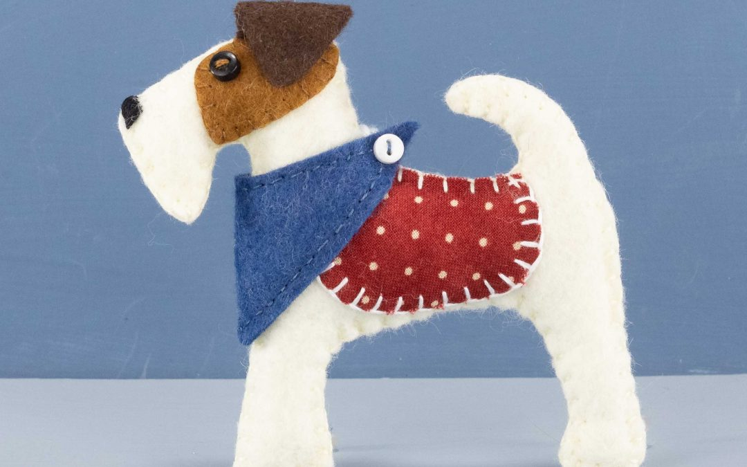 Meet Fred the Fox Terrier!