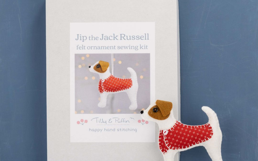 Jack Russell and Dachshund sewing kits
