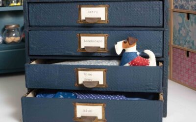 Sewing Room Stories ~ Post Office Drawers