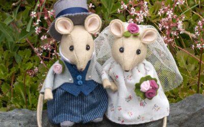 Wedding Mice Sewing Pattern